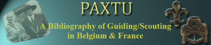 A Bibliography of Guiding/Scouting