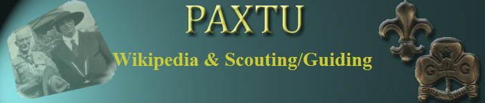 Wikipedia & Scouting/Guiding